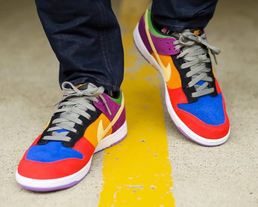 Review : que vaut la Nike Dunk Low SP Viotech Multicolor