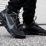 Nike React Element 55 Premium 'Black Dark Grey Anthracite'