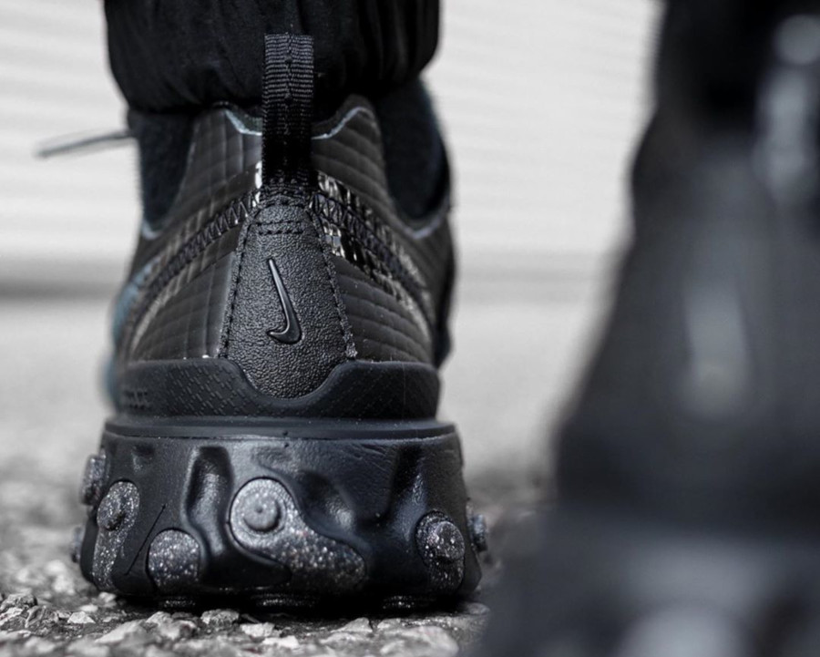 Nike React Element 55 Premium Black Dark Grey Anthracite (1)