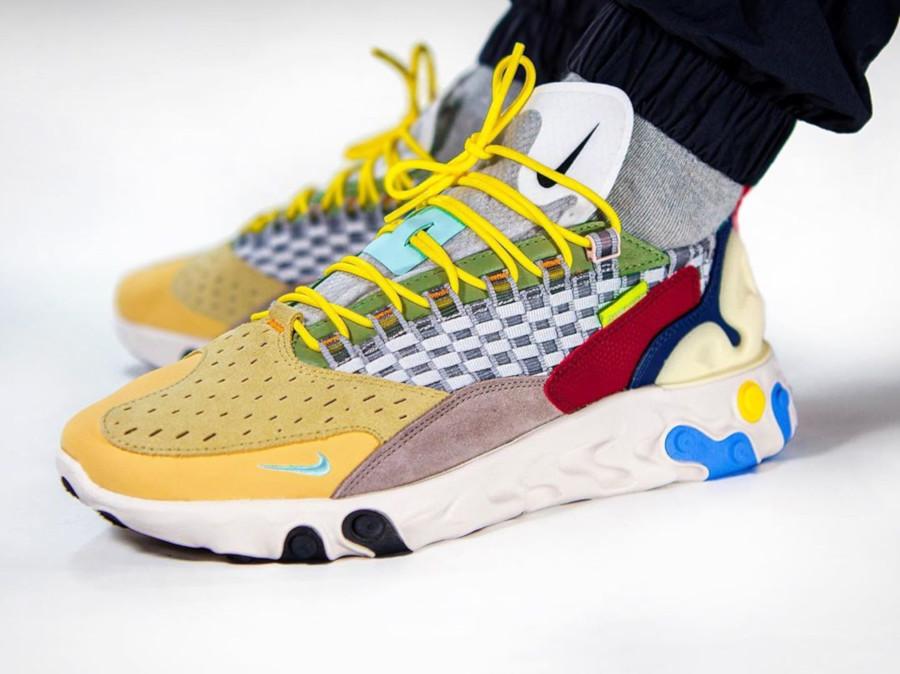 Nike React Sertu THE10TH Wolf Grey Teal Tint AT5301