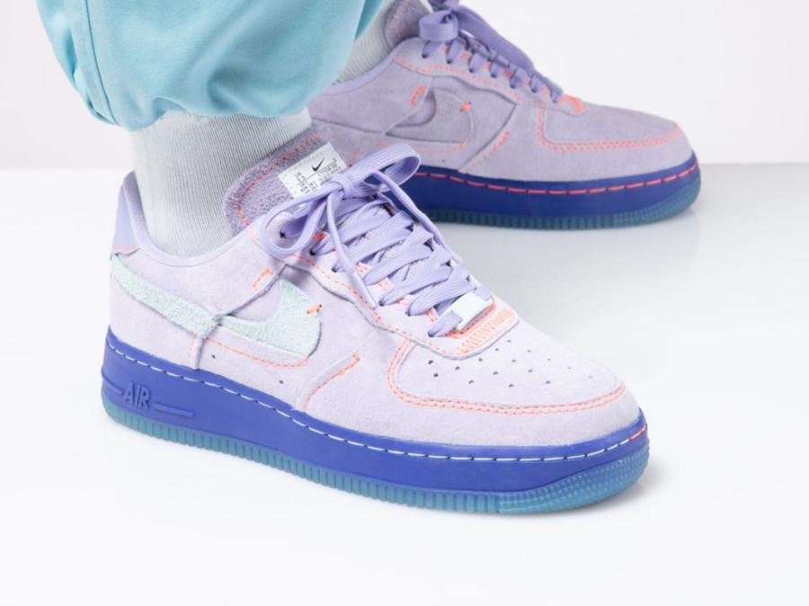 Nike Wmns Air Force 1 '07 LXX Vandalized 'Purple Agate Rush Violet' (7)