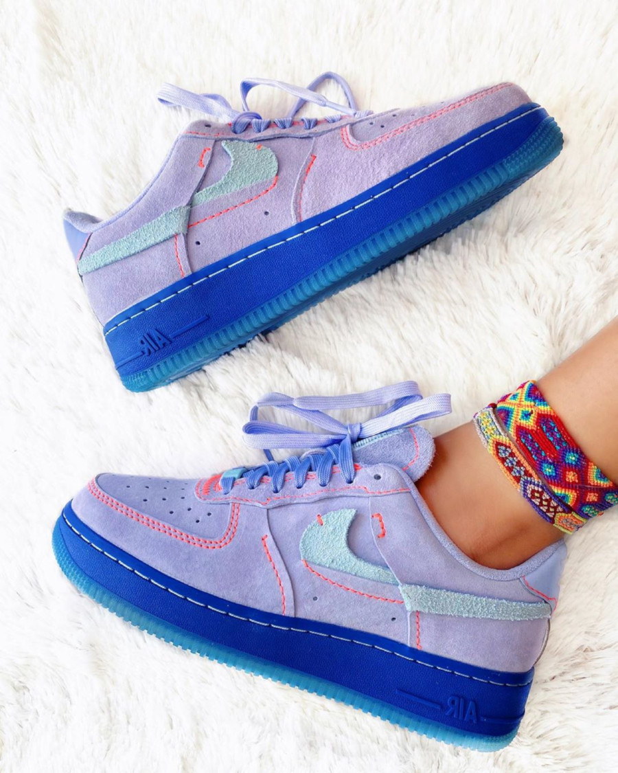 Nike Wmns Air Force 1 LX Inside Out Agate Purple - @kaleycorve