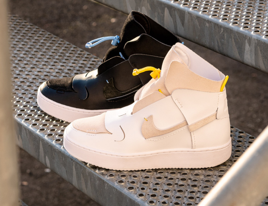 Nike Wmns Air Force 1 Vandalized LX White Chrome Yellow (1)