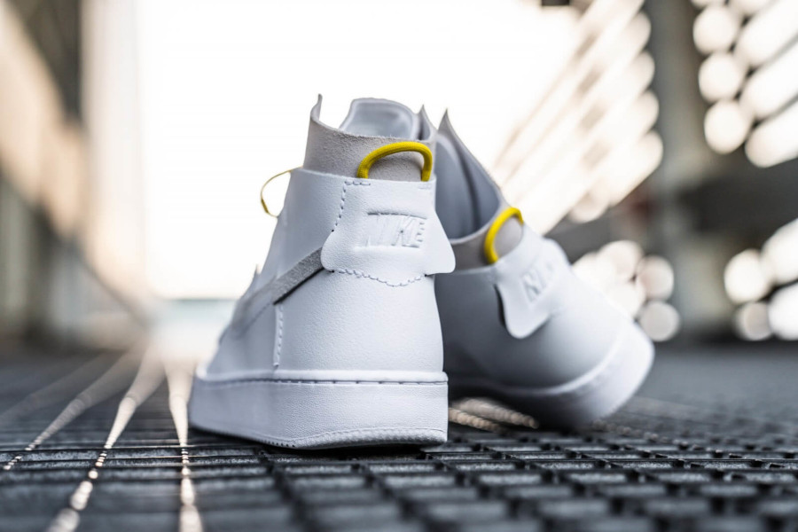 Nike Wmns Air Force 1 Vandalized LX White Chrome Yellow (2)