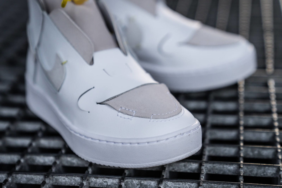 Nike Wmns Air Force 1 Vandalized LX White Chrome Yellow (4)