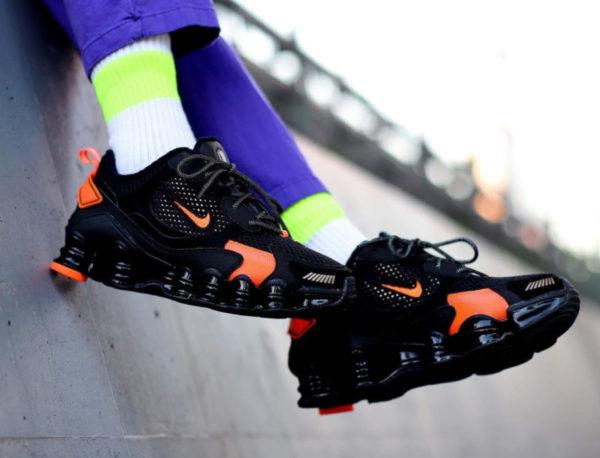 Nike Wmns Shox TL Nova SP Black Crimson CK2085