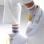 Nike Wmns Vandalized LX 'White Chrome Yellow'