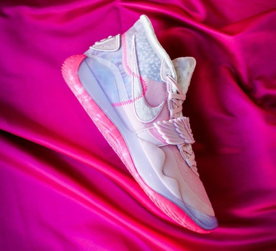 Nike Zoom KD12 'Aunt Pearl' ( Kay Yow Cancer Fund) (4)