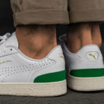 Puma Ralph Sampson Lo Perforated Soft 'White Amazon Green'