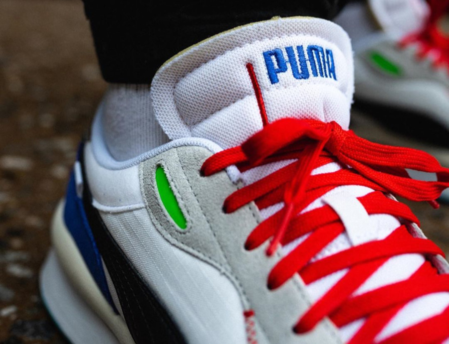 Puma Rider 020 Ride On 'White Dazz Blue High Rise' (1-1)
