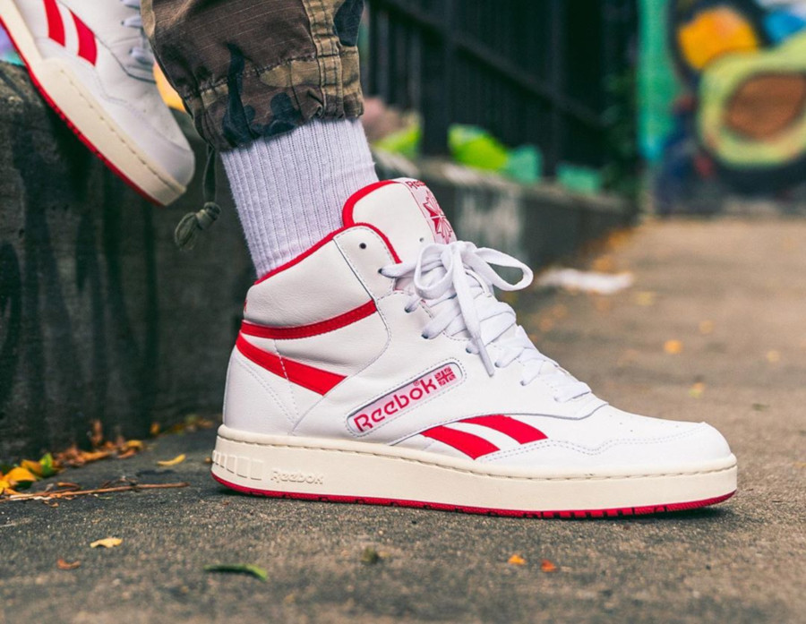 Reebok BB 4600 OG White Primal Red Retro 2019 (2)