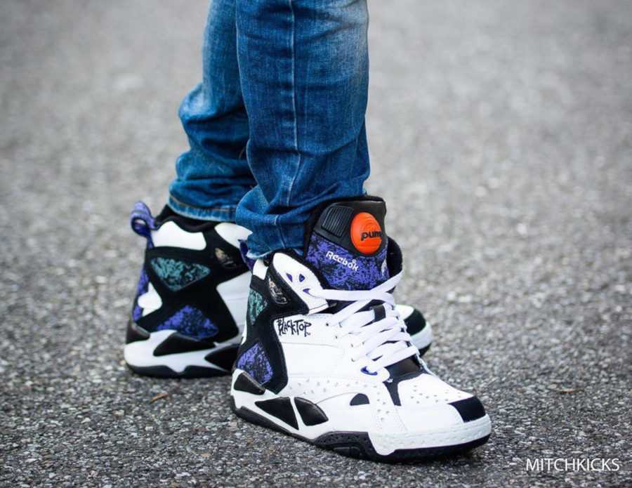 Reebok Pump Blacktop Battleground - @mitchkicks