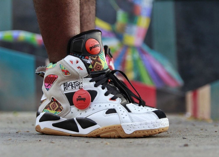 Reebok Pump Blacktop Battleground Tribal -@felipekeels