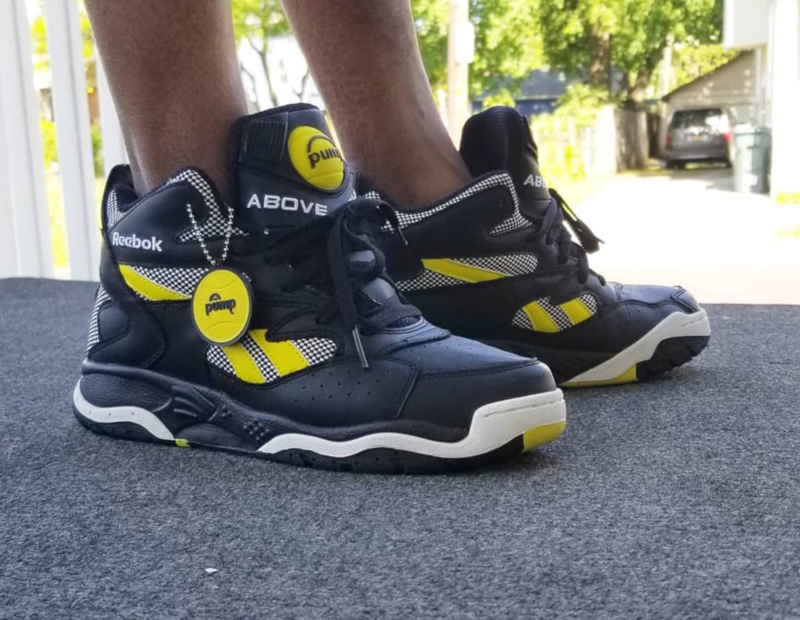 Reebok Pump D Time The Rim - @infamousvic