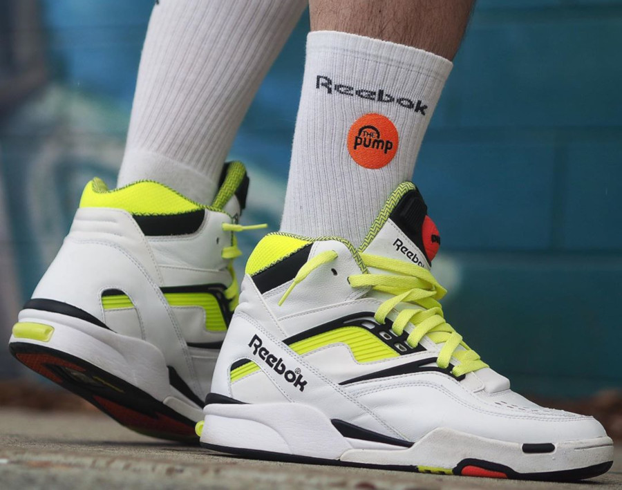 Reebok Pump Twilight Zone OG White Neon - @largeinfant