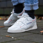 Reebok Workout Plus MU 'Chalk Radient Red True Grey'