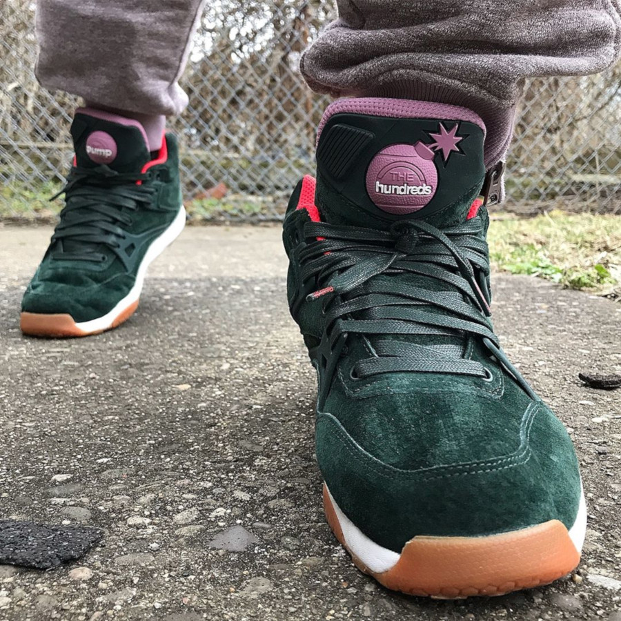 The Hundreds x Reebok Pump AXT - @omigoditstike