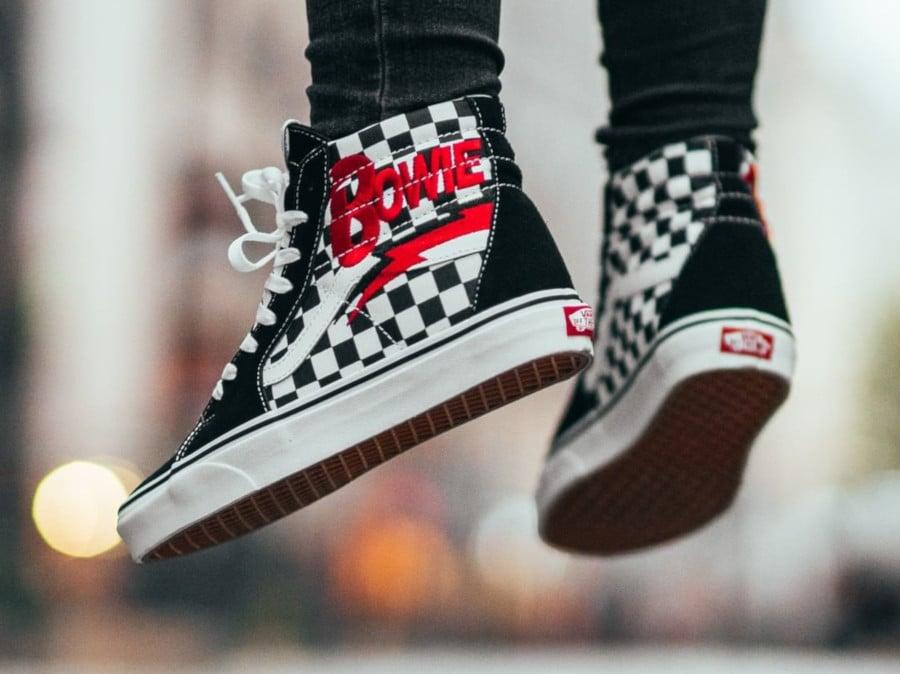 Vans SK8 Hi David Bowie Checkerboard - @footshop