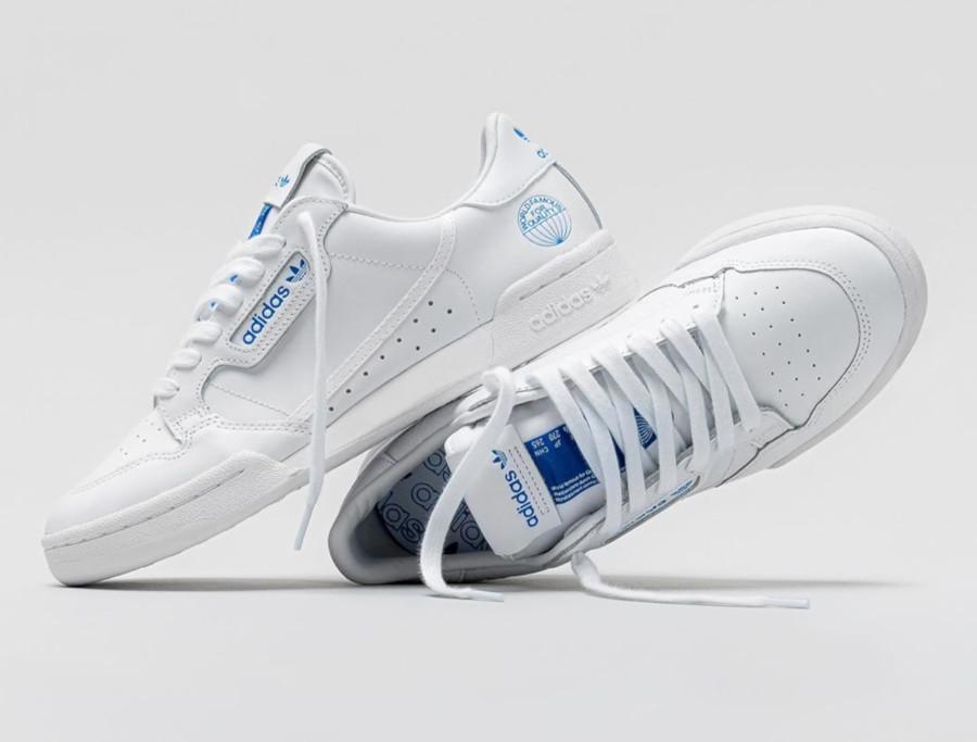 Adidas Continental 80 White Bluebird WFFQ FV3743 (1)