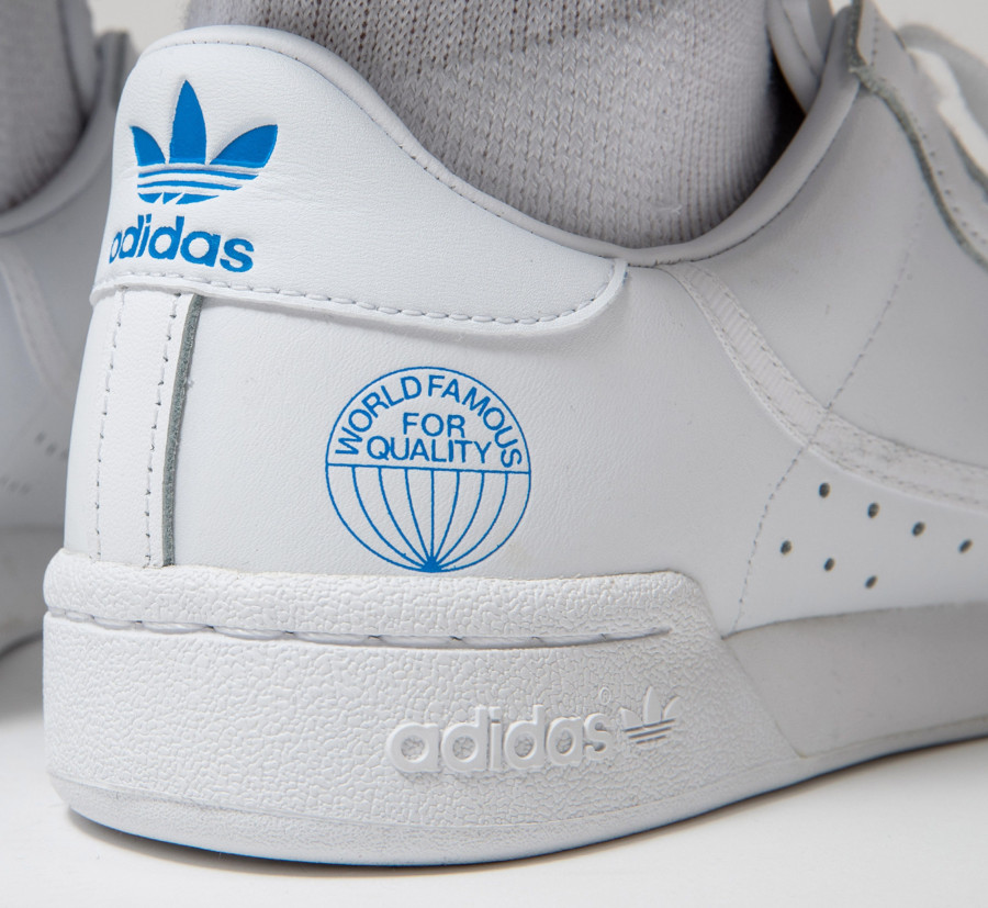 Adidas Continental 80 White Bluebird (World Famous For Quality) (1)