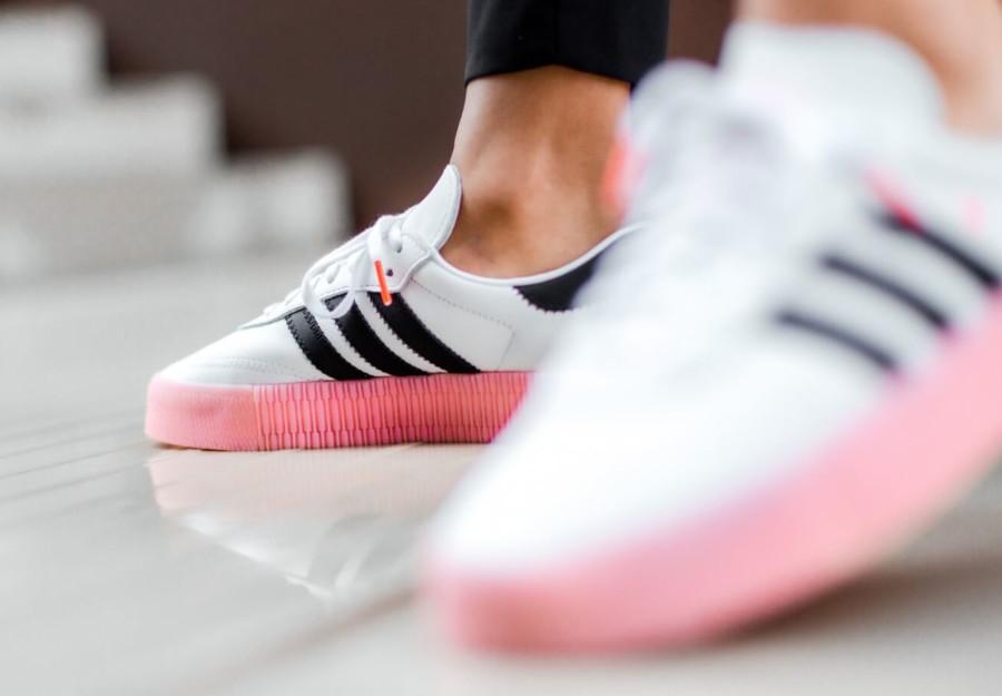 Adidas Sambarose W 'White Glory Pink' (Valentine's Day 2020) (2)