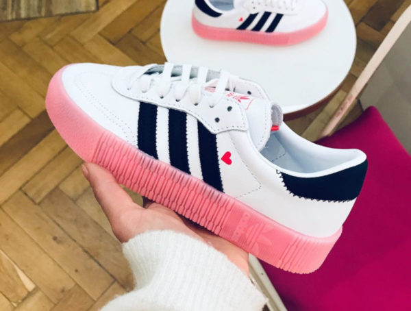 Avis : que vaut la Adidas Sambarose femme Valentine's Day