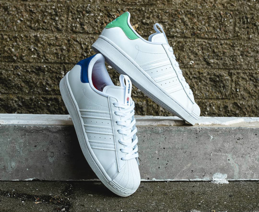 Adidas Superstar Chinese New Year London (FW2848) et Paris (FW2847)