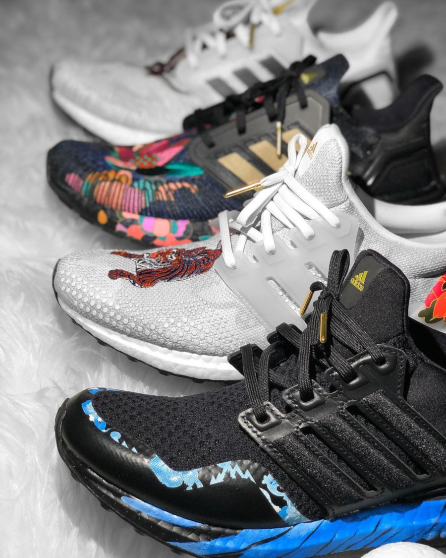 Adidas UltraBoost 20 DNA CNY 2020 'Floral' (1)