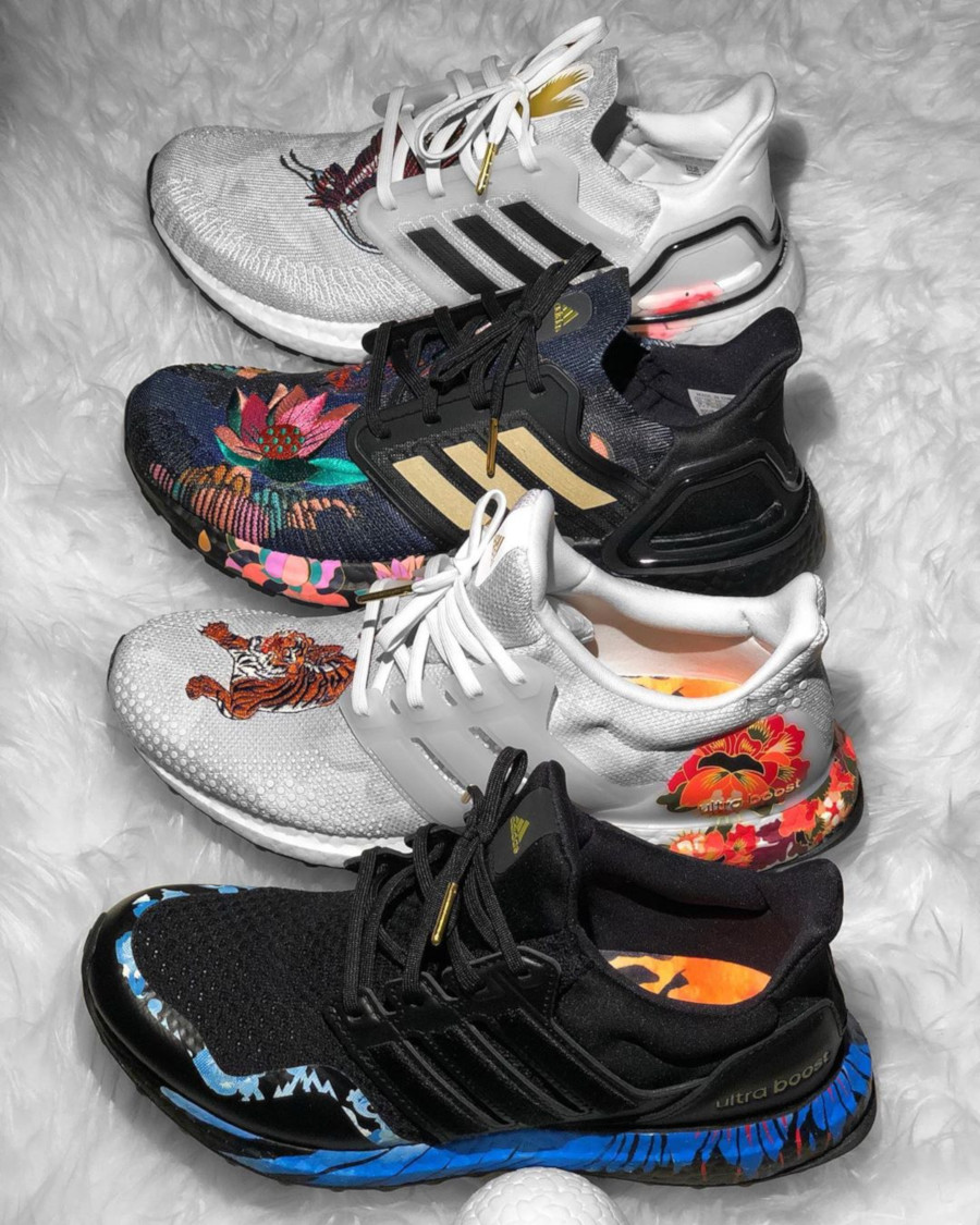Adidas UltraBoost 20 DNA CNY 2020 'Floral' (2)