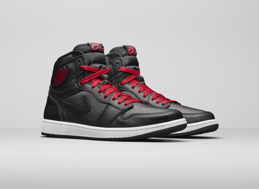 Air Jordan 1 High Retro OG Black Satin
