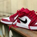 Air Jordan 1 Low 'Noble Red'
