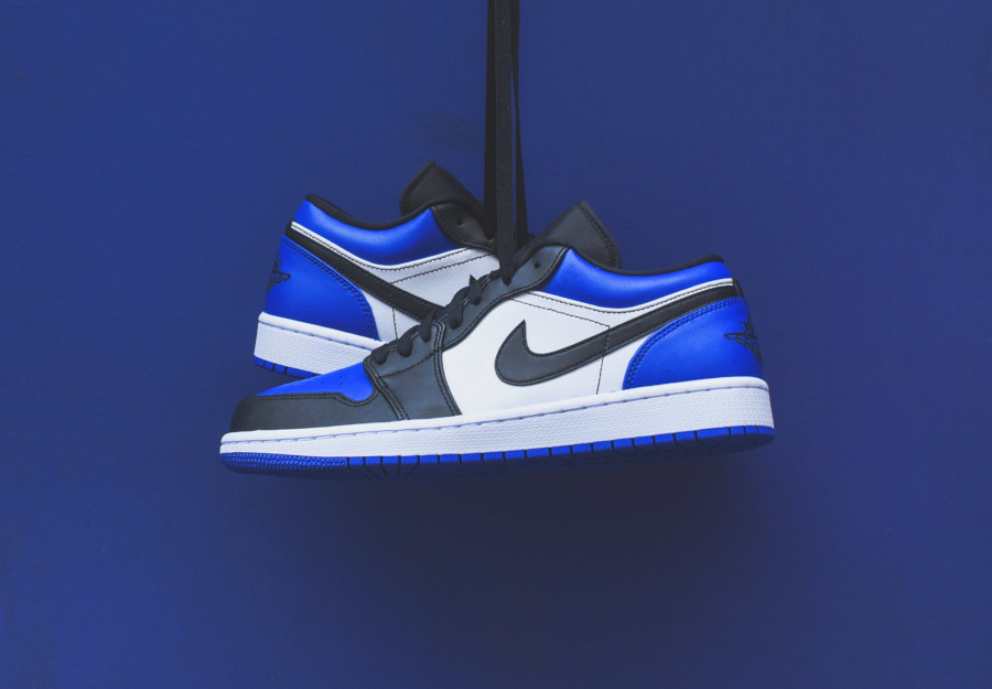 Air Jordan 1 Low 'Royal Blue Black Toe' (1)