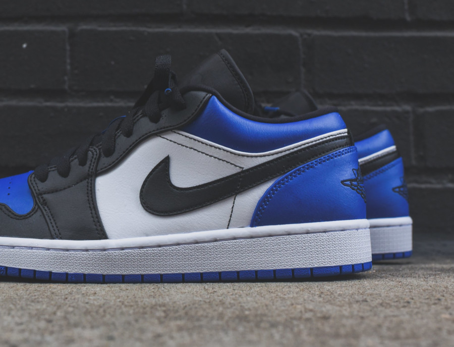 Air Jordan 1 Low 'Royal Blue Black Toe' (4)