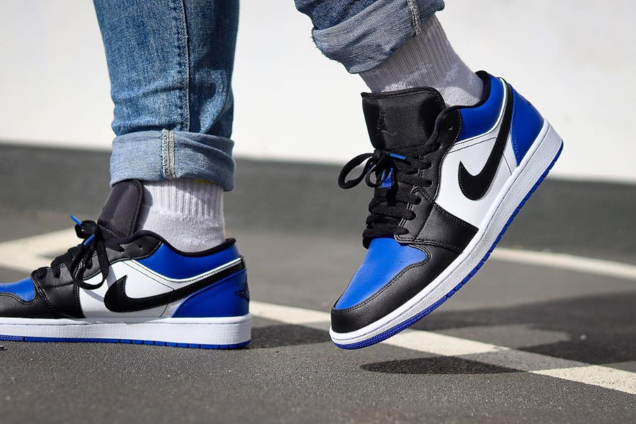 Air Jordan 1 Low Royal Toe (Fragment) CQ9446-400