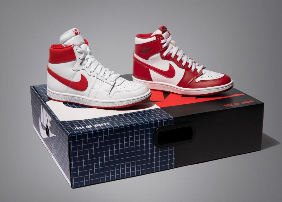 Air Jordan 1 x Nike Air Ship New Beginnings