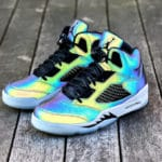 Women's Air Jordan 5 Retro Iridescent Oil Grey (30th Anniversary)