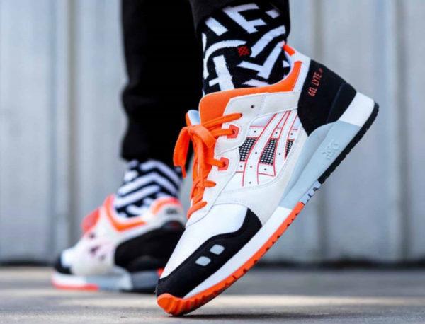 ASICS Gel Lyte III (Orange Blaze) Sneaker Freaker