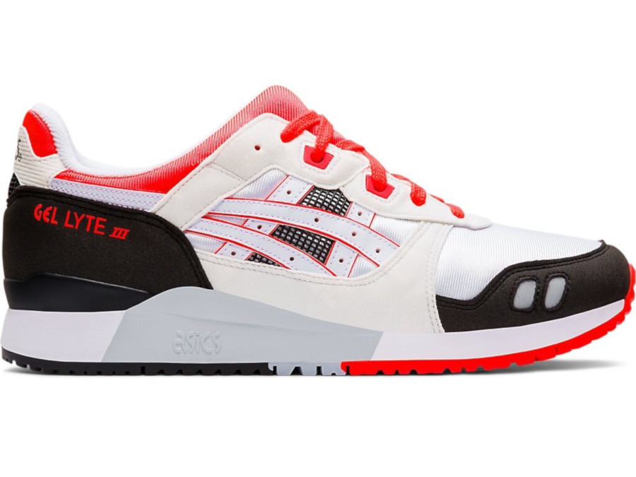 Asics Gel Lyte 3 White Flash Coral