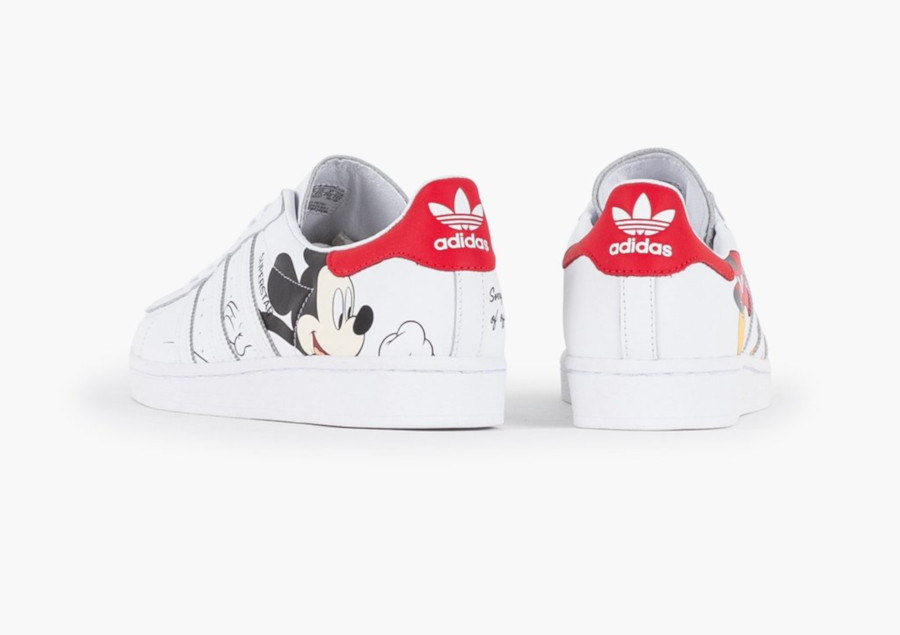 Disney x Adidas Superstar 'Mickey Mouse' (Chinese New Year) (2)