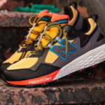 New Balance Fresh Foam Crag V2 'Varsity Gold Black Toro Red'