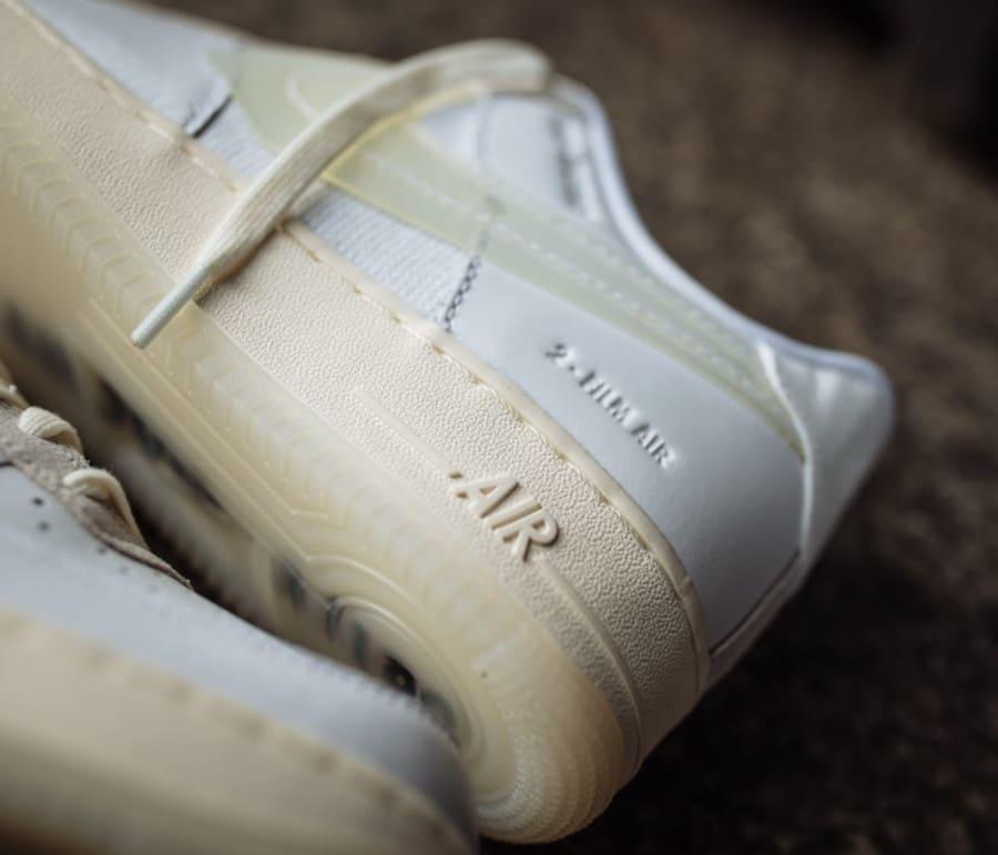 Nike Air Force 1 '07 LV8 DNA 'White' (Full Length Air Sole - A1180) (3)