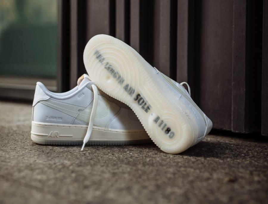 Nike Air Force 1 '07 LV8 DNA 'White' (Full Length Air Sole - A1180) (4)