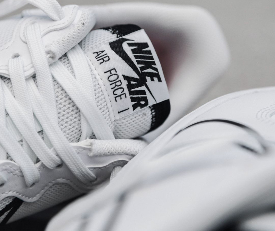 Nike Air Force 1 React DMSX White Black University Red (6-2)