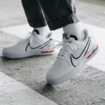 Nike Dimsix Air Force 1 React 'White Black University Red'