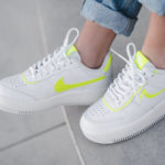 Nike Wmns AF1 Shadow 'White Lemon Venom'