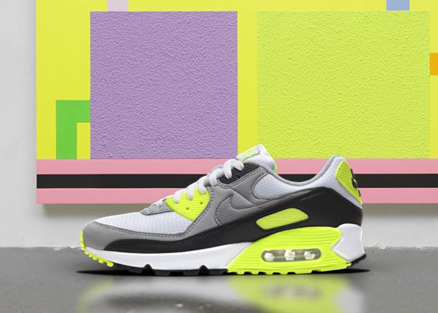 Nike Air Max 90 OG 30TH Grey Volt CD0881-103