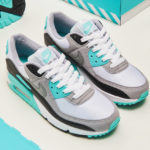 Nike Air Max 90 OG 'Particle Grey Hyper Turquoise' (30th Anniversary)