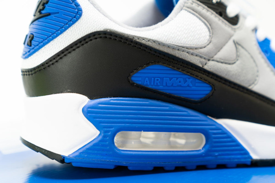 Nike Air Max 90 OG 'Hyper Royal' White Particle Grey Black (4)