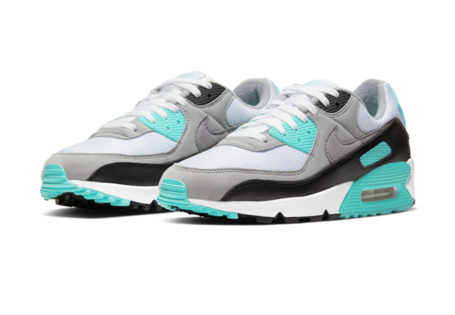 Nike Air Max 90 OG Hyper Turquoise Particle Grey