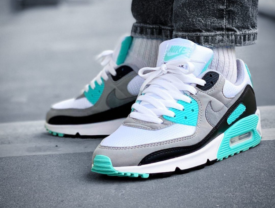 Nike Air Max 90 OG Mint 2020 (homme) (2)